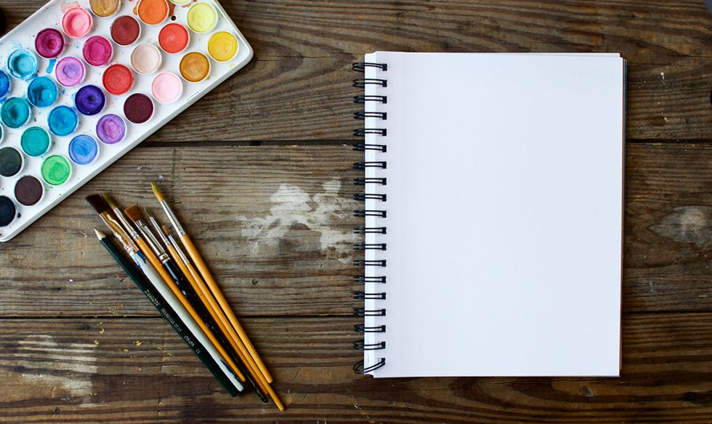Balance, Entspannung, Stress, Zeichnen, Malen
