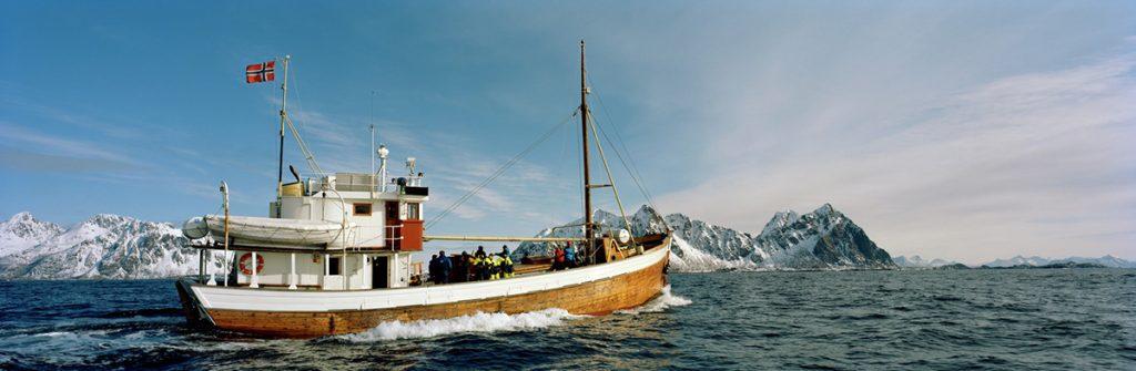 Fischerboot, Stockfisch, Kabeljau, Norwegen, Lofoten