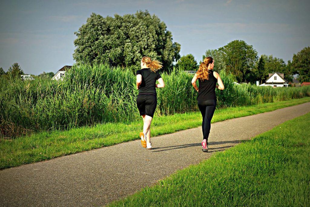 Sucht euch eine Laufstrecke, die zu euren Bedürfnissen passt und euch beim Entspannen hilft.