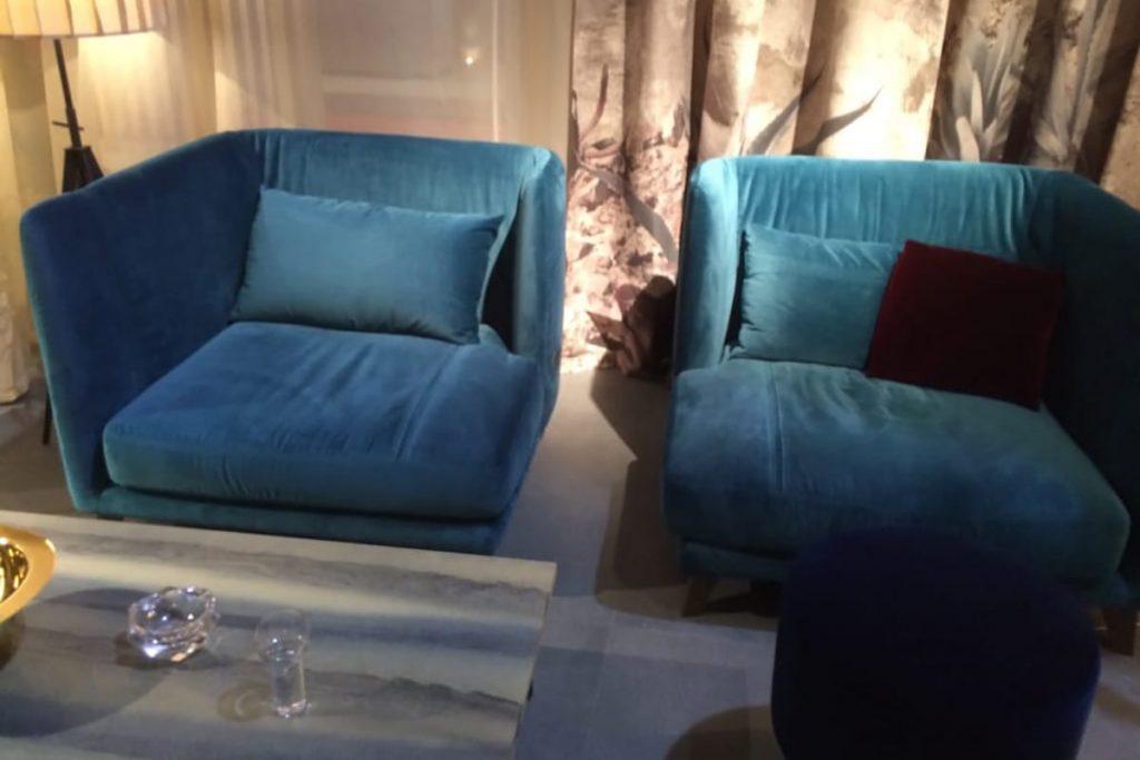 Wie Farben eine besondere Atmosphäre im Raum erzeugen können, lässt sich abwechslungsreich auf der Mailänder Möbelmesse erleben.