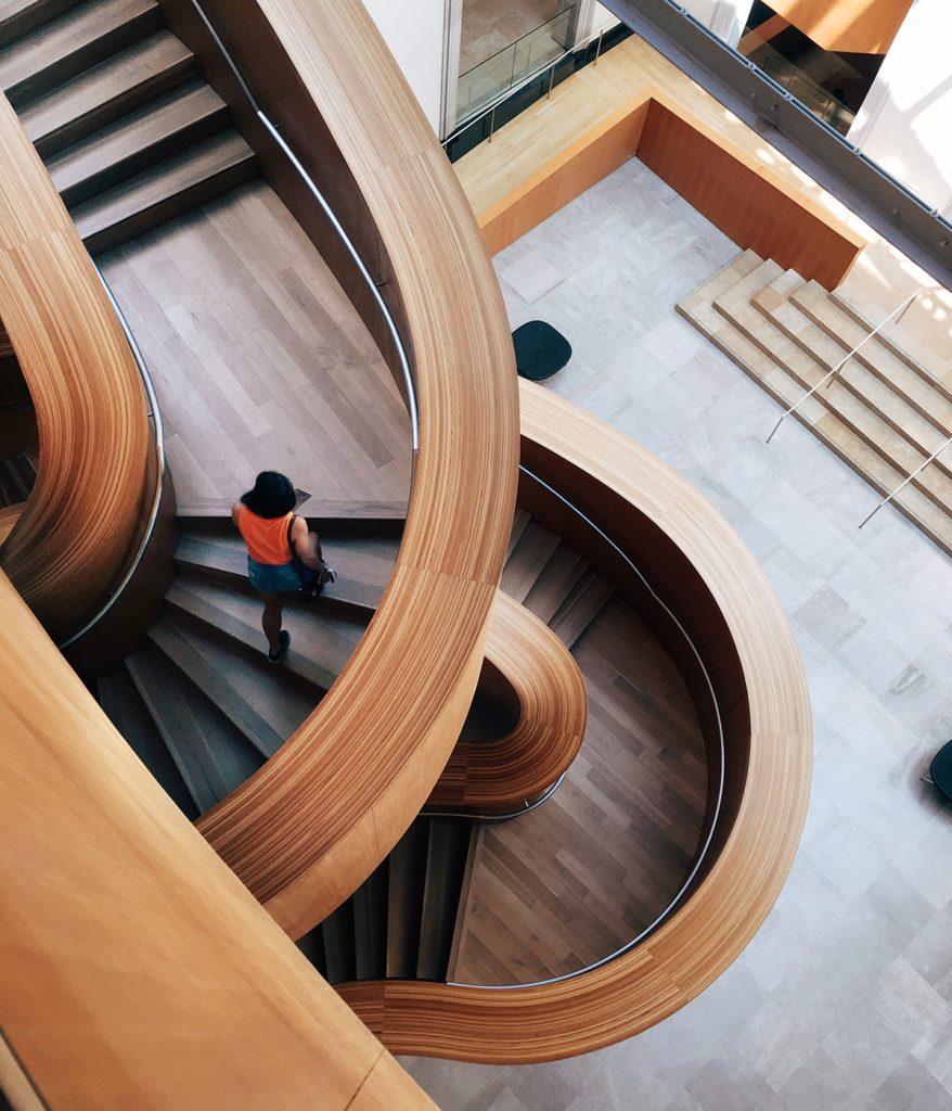 Pause, Treppen, Bewegung, Architektur