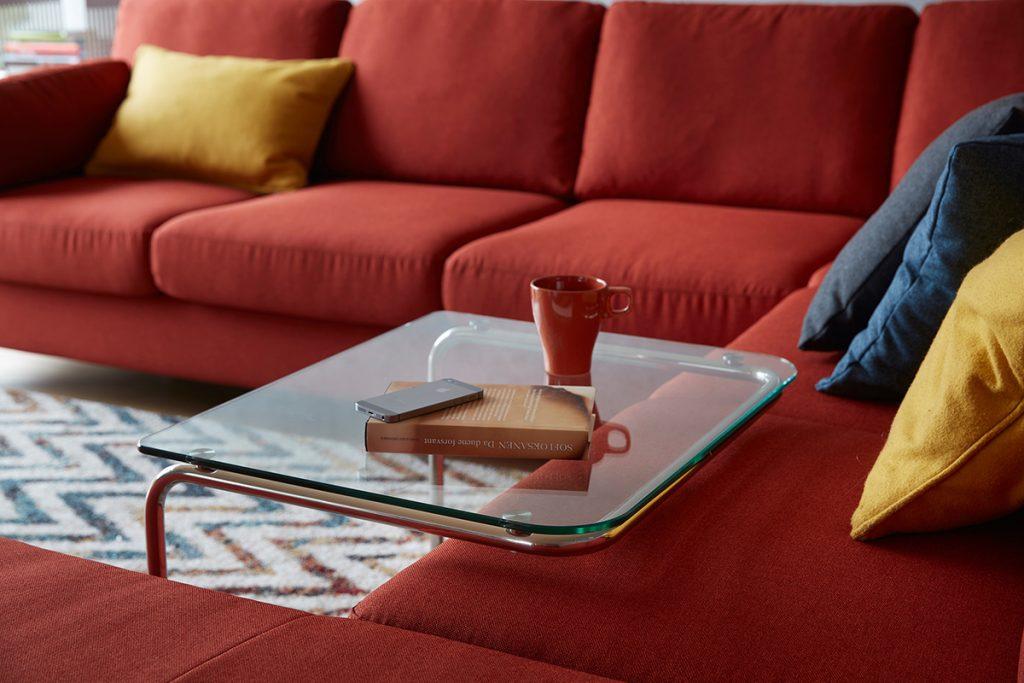 Befreit euch von überflüssigen Dingen und bevorzugt flexible Möbel.