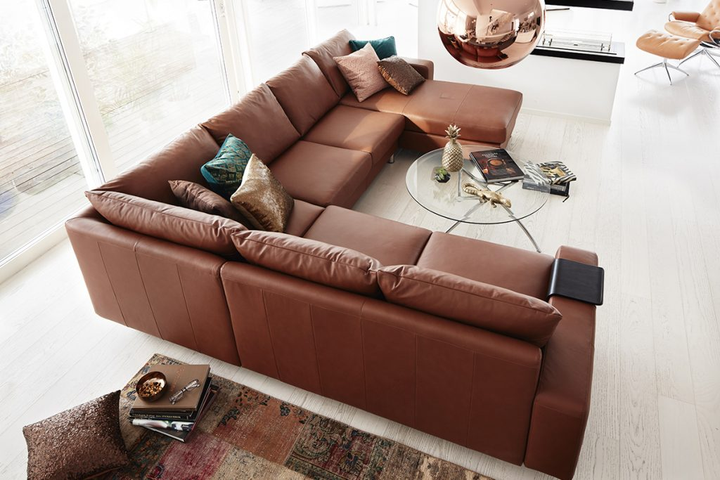 Ekornes, Stressless Sofa, gutes Design, E200
