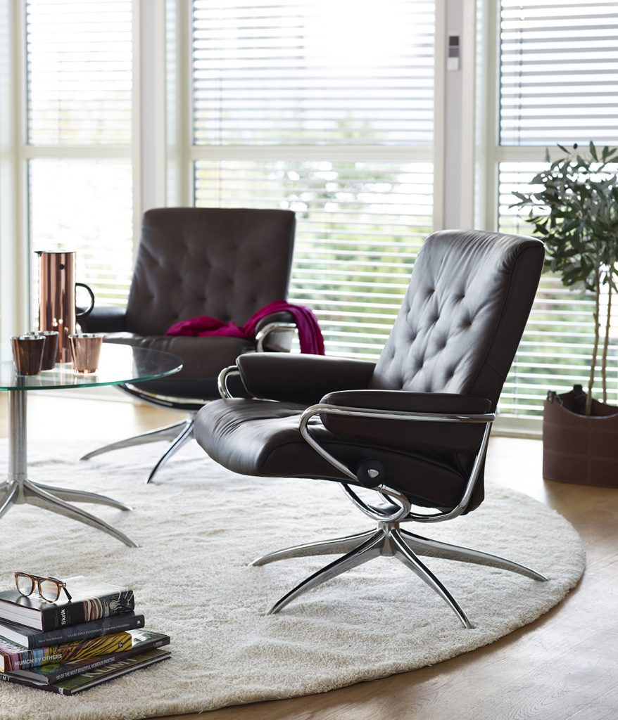Oslo Design Fair, Trend, Stressless Sessel, Metro