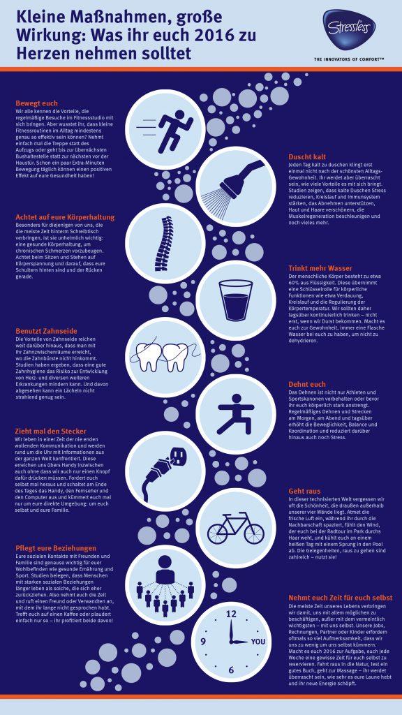 Healthy Habits oder 10 Tipps für mehr Balance im Alltag.