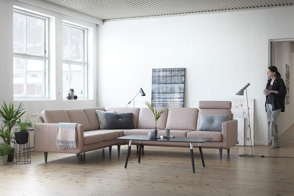 Wenn ihr bei der Farbgestaltung eures Zuhauses auf sanfte, dezente Farben achtet, schafft ihr eine entspannende Atmosphäre.