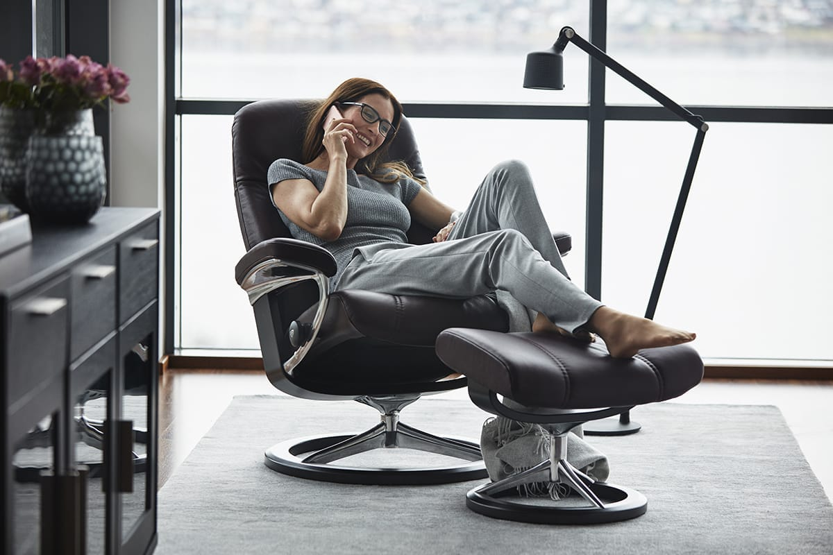 Stressless Consul Sessel Digital Detox Entspannung