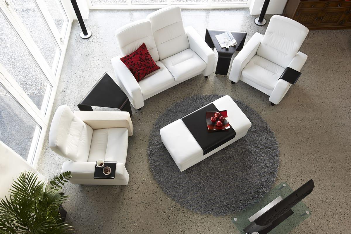 Liebenswert Heimkino Einrichten Foto Von Stressless-wave-sofa-entspannung-heimkino-einrichten
