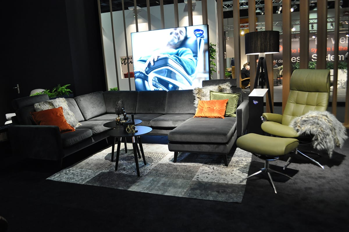 Stressless Wohntrends 2018 Sofa Leo Sessel London