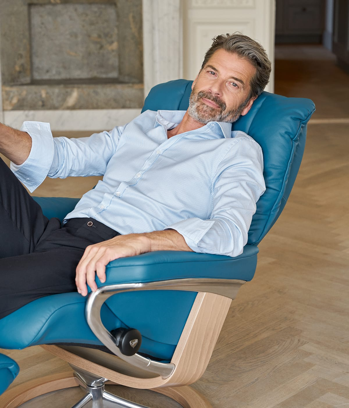 Gemütlich in den Stressless Mayfair Sessel setzen und los gehts mit den liebsten Filme aus Norwegen.
