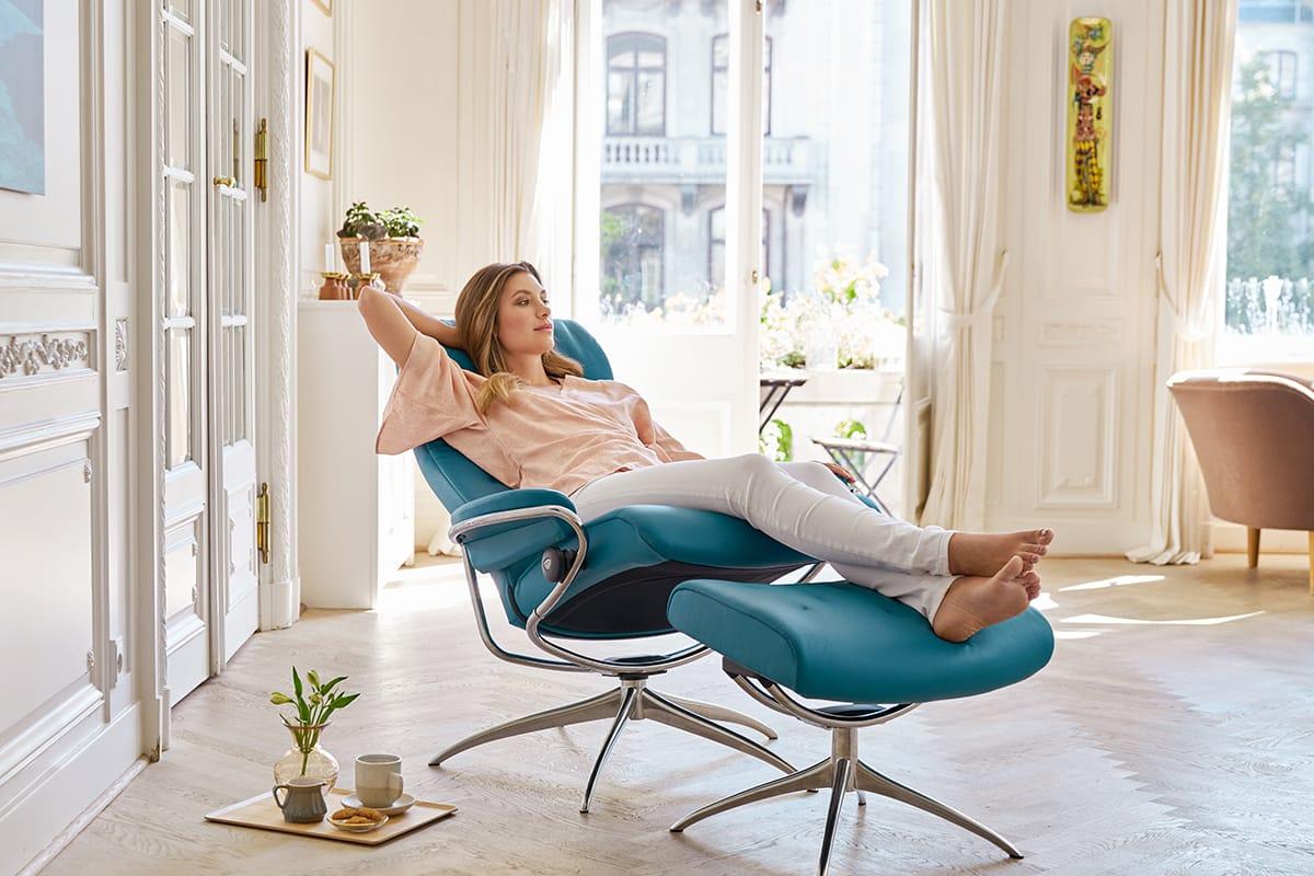 Balance und Entspannung, Gelassenheit und Stressless Metro Sessel
