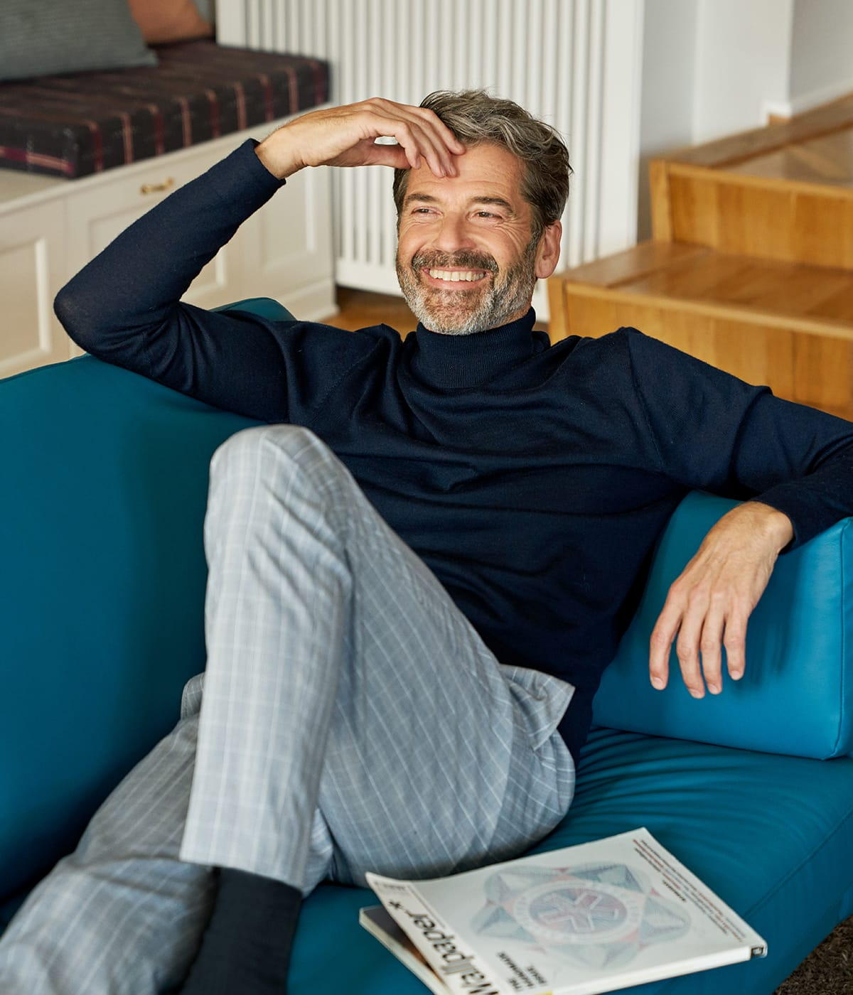 Auf gemütlichen Möbeln wie dem Stressless Air Sofa lässt sich richtig entspannen.