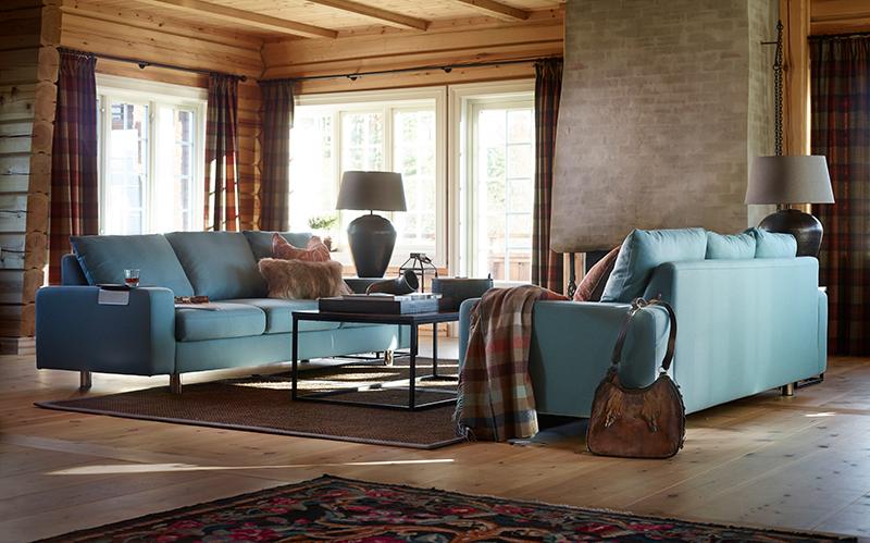 Ostern in Norwegen in die richtige Zeit, um es sich mit einem neuen Krimi auf dem Stressless Emma E200 Sofa gemütlich zu machen.
