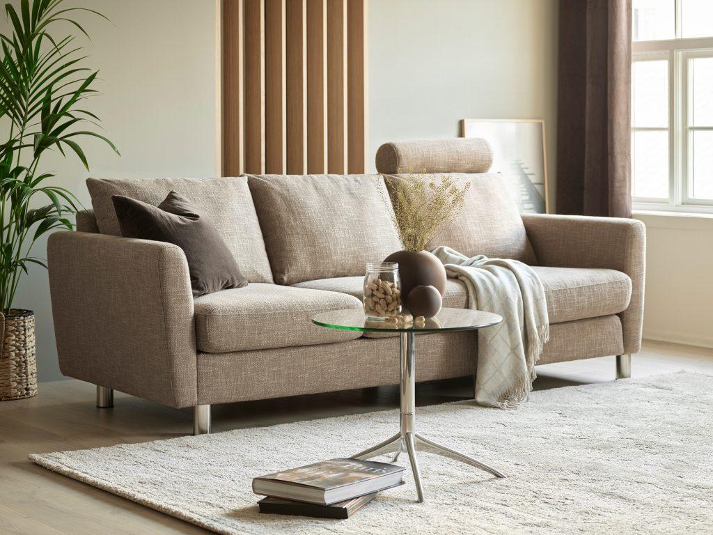 Mit dem Stressless Emma E350 Sofa könnt ihr ein passendes Sofa finden für eine Einrichtung im klassisch-zeitlosen Stil.