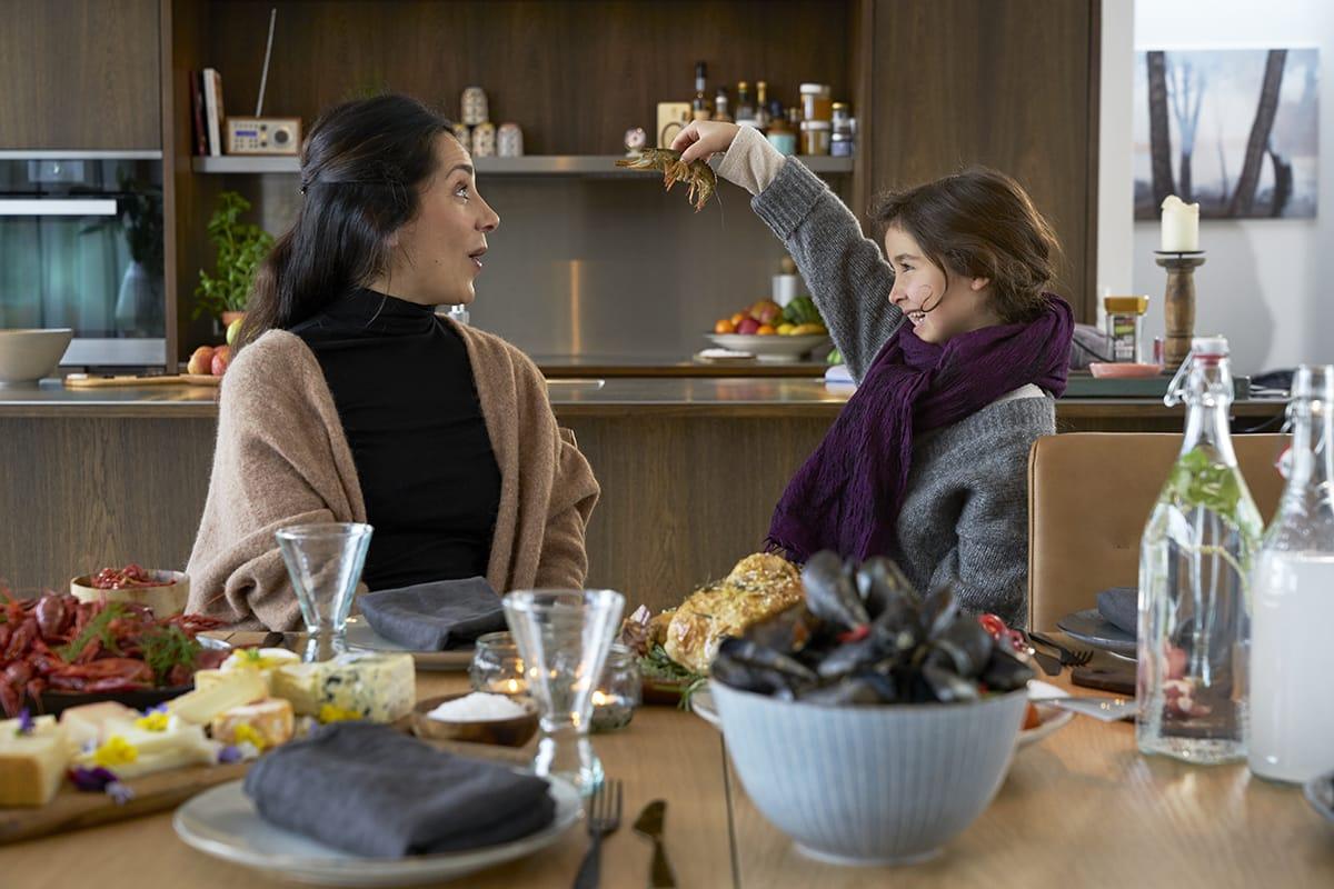 Mit Stressless Dining Möbeln könnt ihr dem offenen Esszimmer eine ganz eigene Note geben.