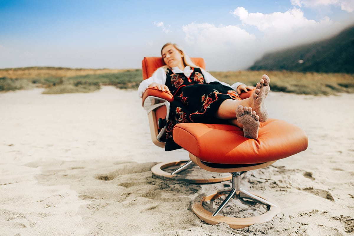 Achtet bei der Wahl eurer Urlaubsart auf ausreichend Entspannung und Komfort – die ihr ebenfalls auch im Stressless Sessel erfahren könnt.