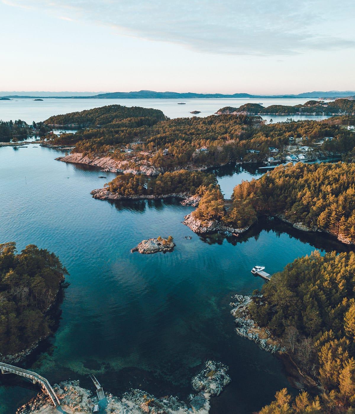 Die Norweger lieben die Natur und achten auch deshalb auf Nachhaltigkeit in Norwegen.