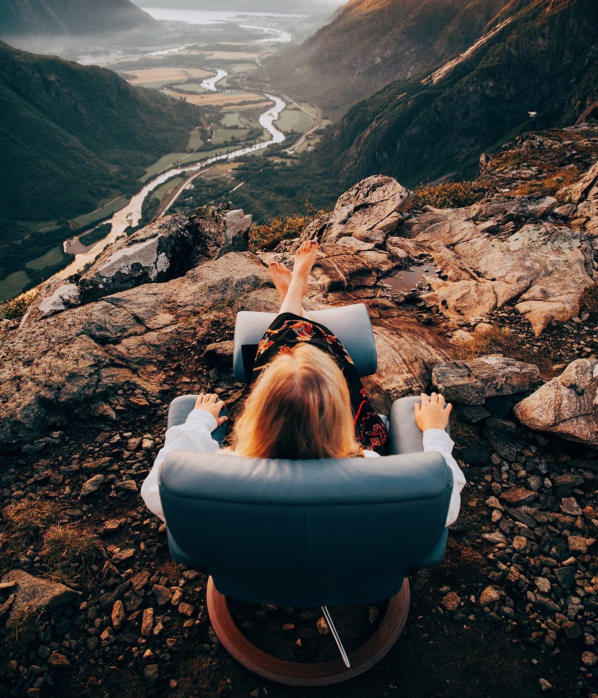 In Sachen Nachhaltigkeit ist Norwegen sehr weit vorne – ebenso wie Stressless Sessel und Sofas.