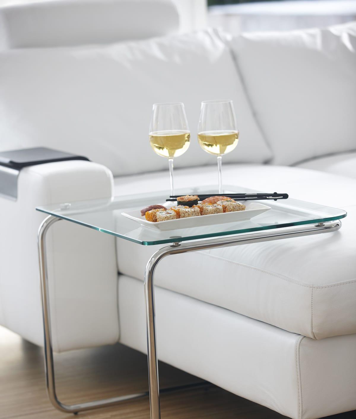 Nehmt euch für eure Zeit zu zweit etwas Schönes vor oder entspannt auf eurem Stressless Sofa.