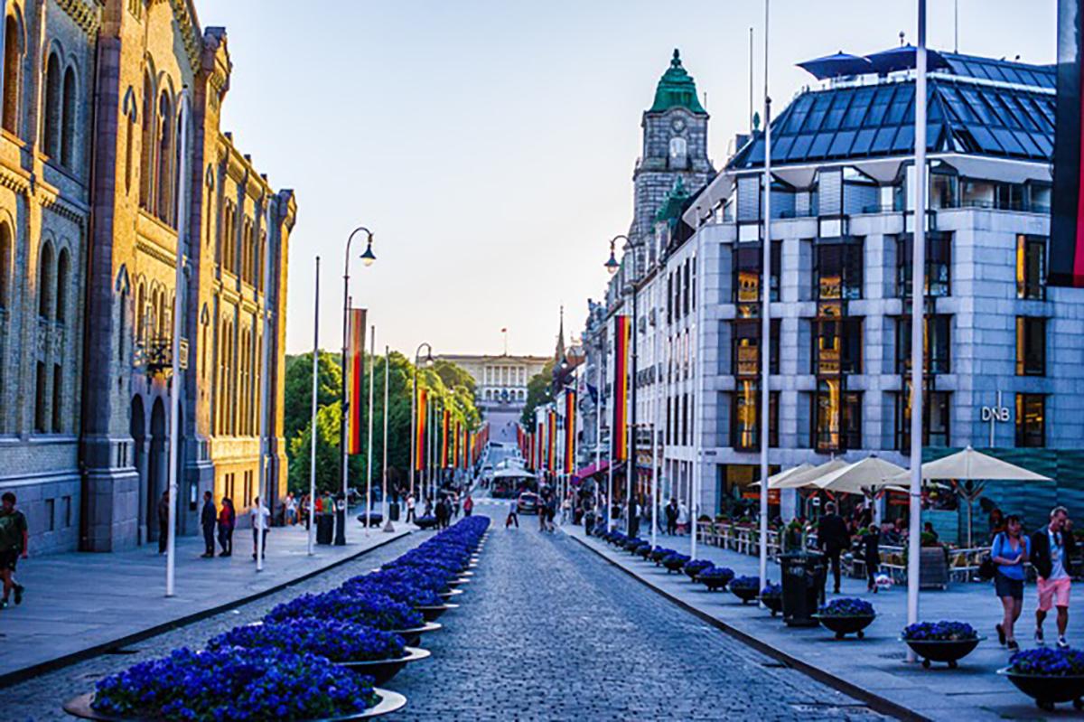 Oslo, die norwegische Hauptstadt kann man zu Fuß gut beim Joggen erkunden.