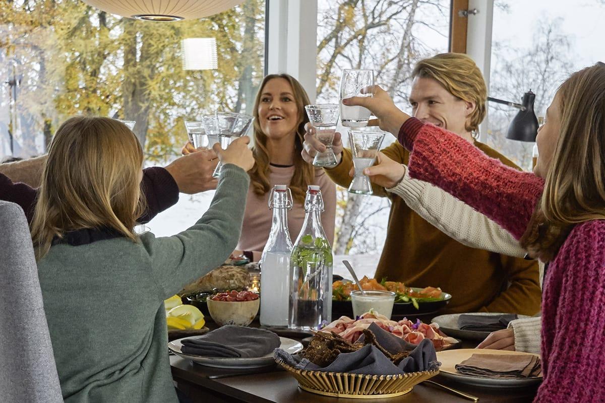 Typisch norwegische Spezialitäten lassen sich am besten in Gemeinschaft genießen.