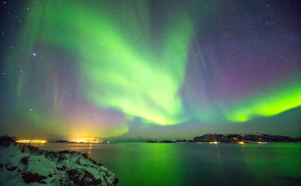 Design-Trip mit Nordlicht: Das gibt es nur in Tromsø.