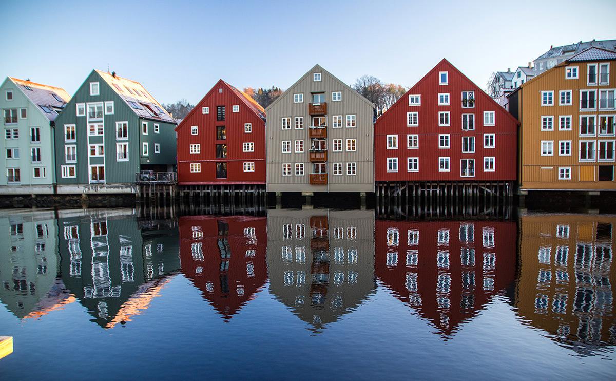 Hauptstadt historischer Sehenswürdigkeiten: Trondheim hat für einen Design-Trip eine Menge zu bieten.