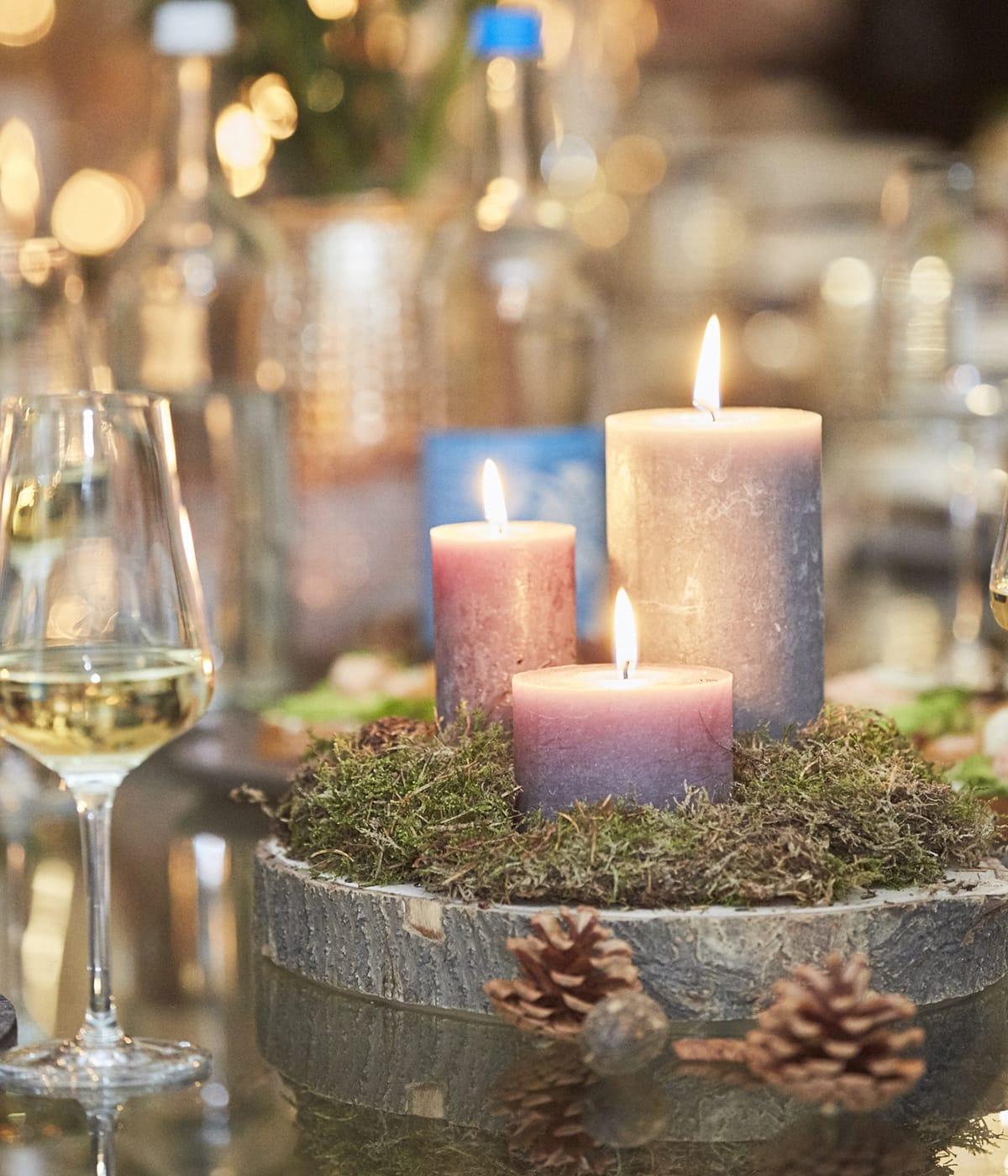 Zur Weihnachtsdekoration werden in Norwegen oftmals Naturmaterialien verwendet.