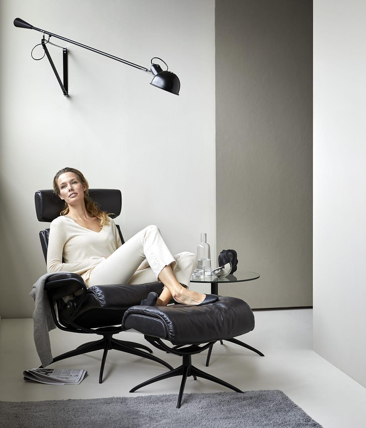 Nachhaltige Materialien in erstklassiger Qualität spielen für norwegisches Design wie dem Relaxsessel Stressless Tokyo eine zentrale Rolle.